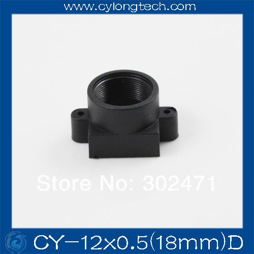 M12 Lens Mount Plastic Lens Mount Camera Lens Mount The  Plastic  Lens Holder Fixed Pitch 18MM CY-12x0.5(18mm)D