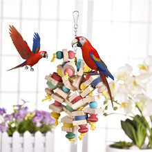 Colorful Wooden Parrot Toy