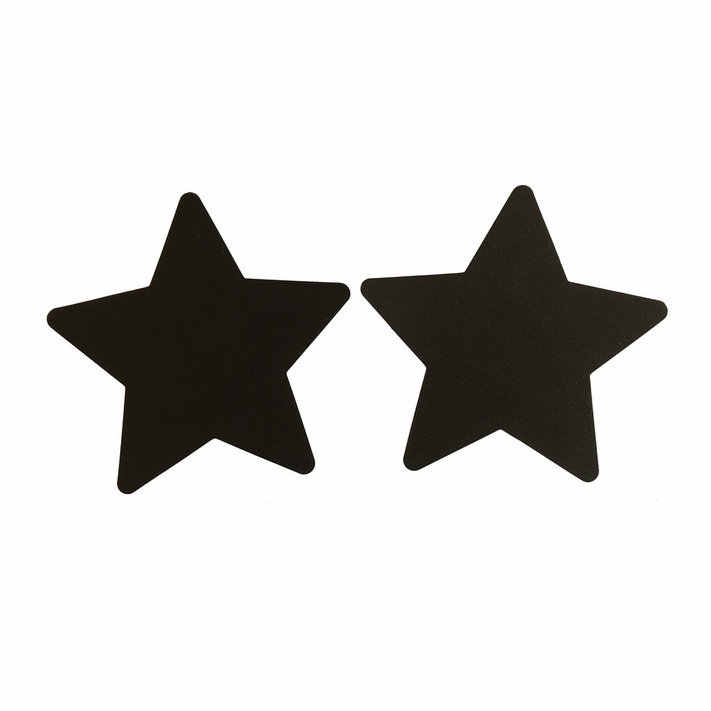 Hot Sale 5 Colors New 2019 Sexy Sequins Red Bule Black Nude Purple Star Nipple Cover Pasties Breast Petals 1 Pair High Quality