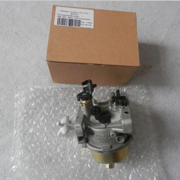 GX390 CARBURETOR FOR HONDA GX390 GX420 188F 190F  13HP 389CC 420CC CONCRETE SAW CARB TILLER CARBURETTOR WATE PUMP GO KART  PARTS genuine keihin carburetor for honda gx390 gx420 ax390 ic390 motor water pump mini bike go kart carb rammer carburettor go kart