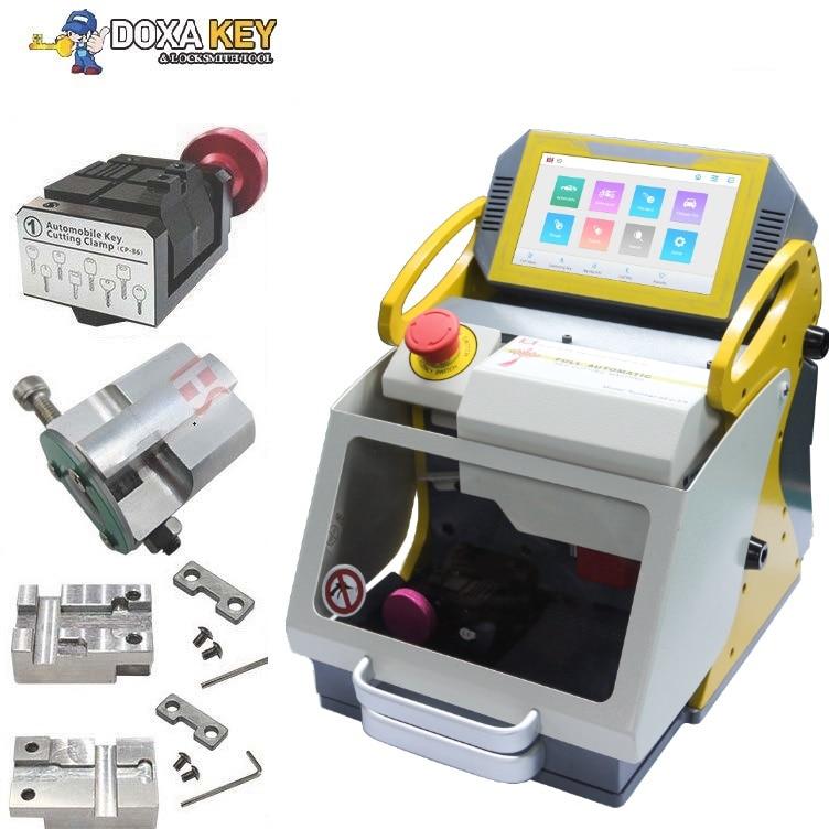4 Clamp NEW 2019 120W CNC Key Cutting Machine SEC E9 Car Key Duplicating Cutter Machine