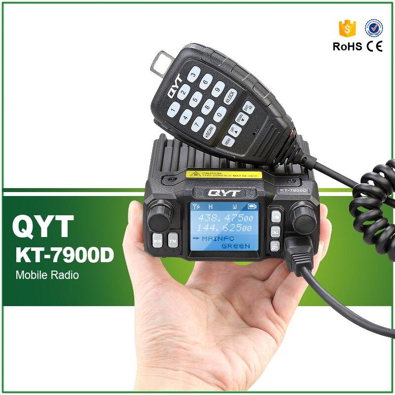 QYT KT-7900D Mini Amateur Transceiver Quad Band 144/220/350/440MHZ Car Mobile RadioQYT KT-7900D Mini Amateur Transceiver Quad Band 144/220/350/440MHZ Car Mobile Radio