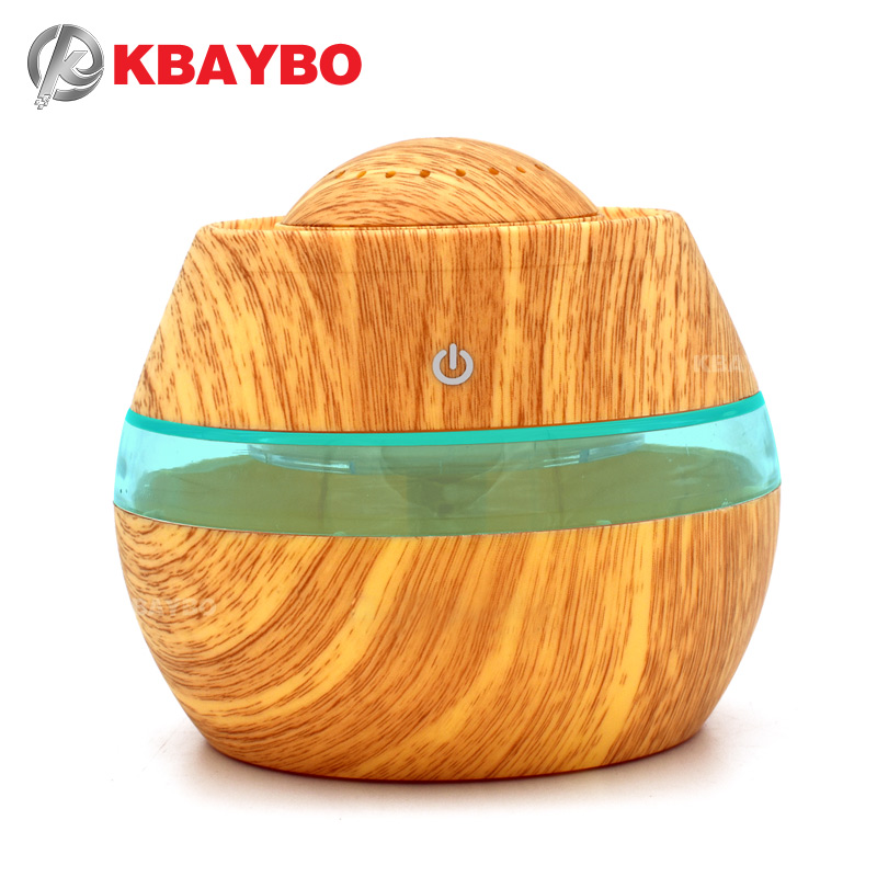 KBAYBO 300ML USB Aromatherapy Essential Oil Diffuser Car Portable Mini Ultrasonic Cool Mist maker Aroma Air Humidifier For Home цена