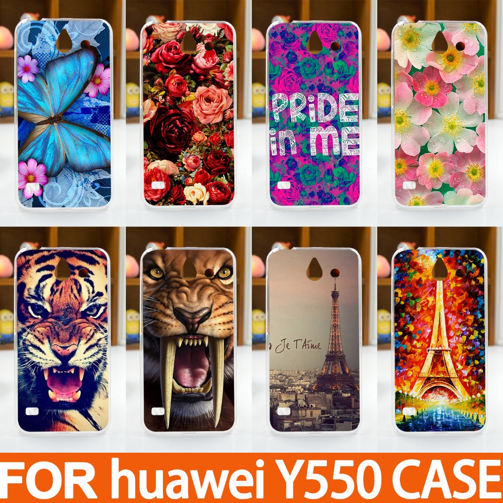 For Huawei Ascend Y550 Cases Various Painting Hard Plastic UV Phone Back Cover  Cases ForHuawei Y550