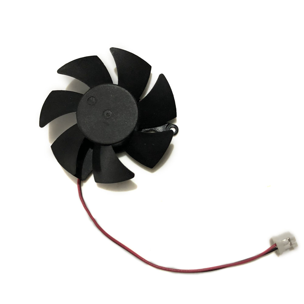 Diameter 45mm 2Lines XFX hd-5450 HD6570 GPU VGA Cooler Cooling Fan For AMD XFX hd-6570 HD 5450 Graphics Video Cards Cooling image