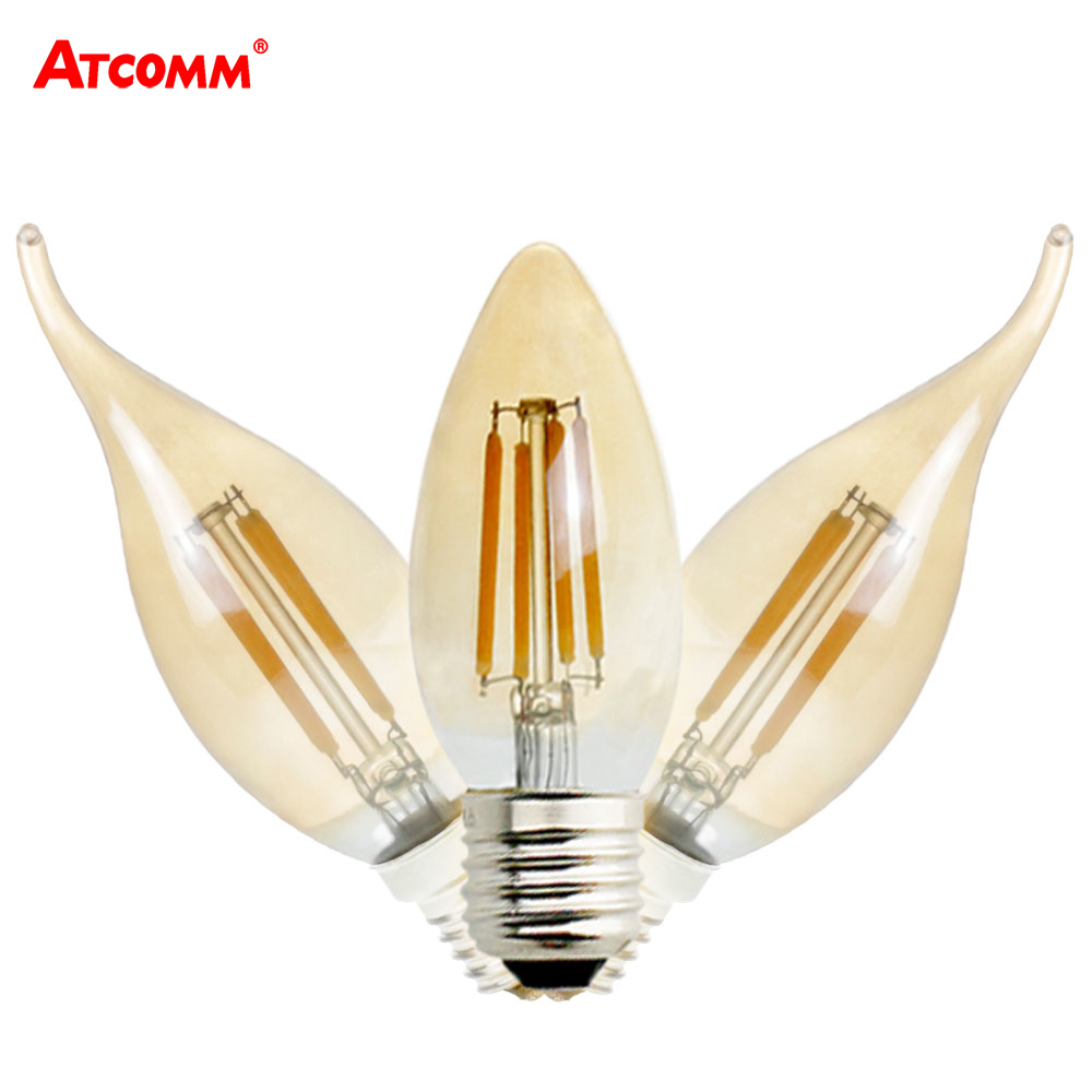 e14 e27 led filament bulb 2w 4w 6w 220v dimmable ampoule. Black Bedroom Furniture Sets. Home Design Ideas