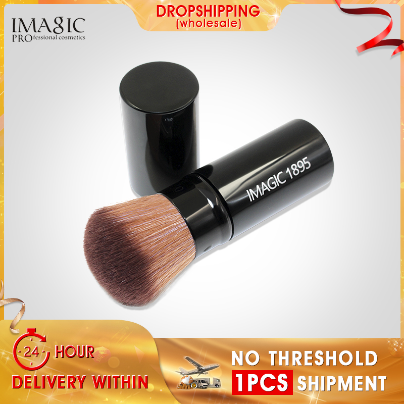 IMAGIC Retractable Kabuki Blush Foundation Powder Cosmetic Makeup Brush Kit wholesale