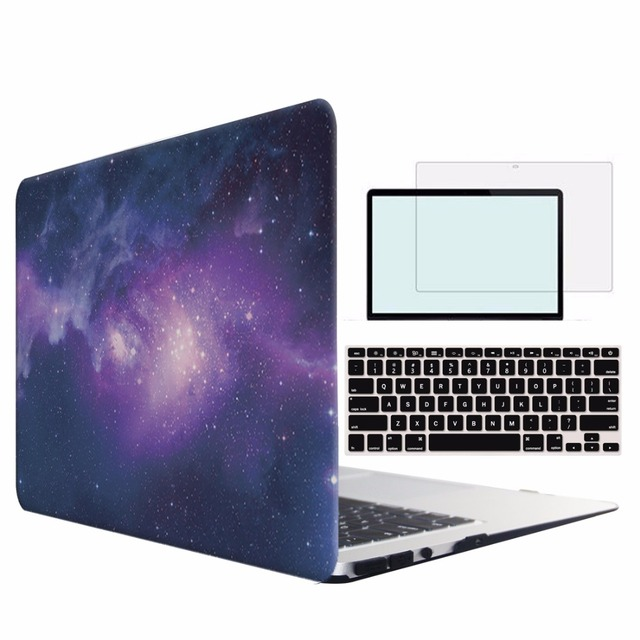 b0ad9a14879e US $8.29 17% OFF RYGOU Crystal Clear Matte Hard Case For Macbook Air Pro  Retina 11 12 13 15 Laptop Bag Case For New Macbook Pro 13 15 With Retina-in  ...