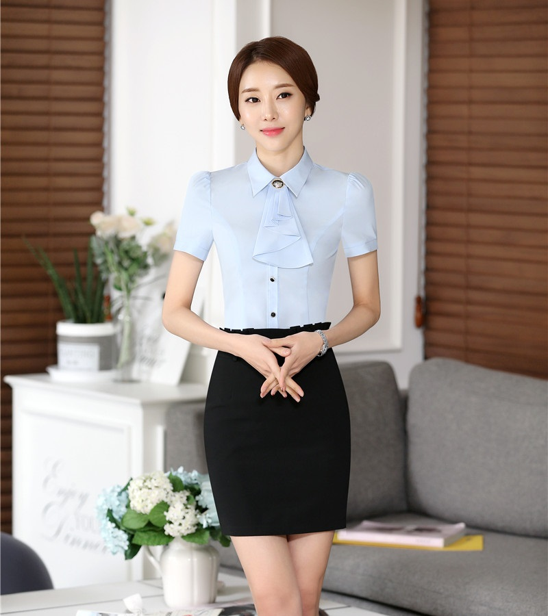 Popular office uniform shirts buy cheap office uniform for Office uniform design 2014
