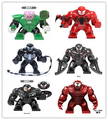 Anti-Venom Carnage New 2019 Marvel Building Blocks Toys For Children Gift Heroes