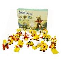 Детские DIY головоломки строительные интеллектуальные Обучающие игрушки для детского подарка