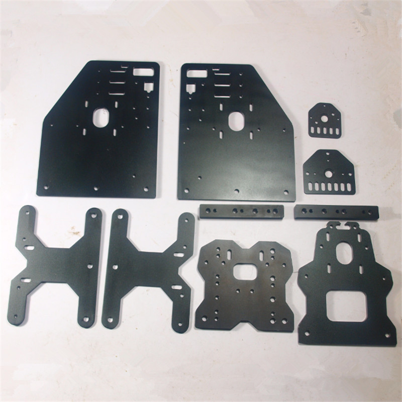 NEW UPDATED VERSION Gantry Plates full kit/set Threaded Rod Plates for DIY Openbuilds OX CNC milling machine  3D printer