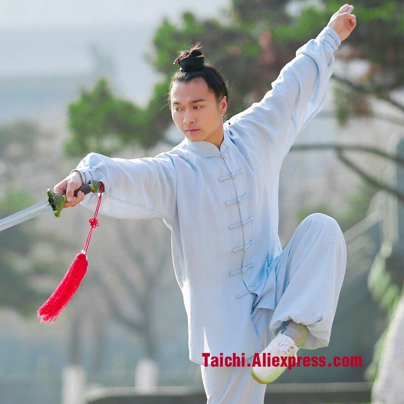 Tai Chi Wudang Male Clothing Taijiquan Female Clothing Tai Chi Uniforms Kung Fu Performance Clothing Wushu Clothing Martial Art