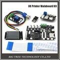 "Impresora 3D 2.8 ""pantalla táctil kit de la Placa Base/ESP8266 wifi módulo de control de doble boquilla/Potencia continua impresión Placa Base KIT044"
