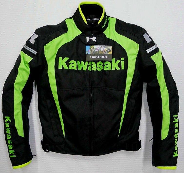 Trasporto libero per 2015 kawasaki nuovo cappotto della giacca giacca Autorcycle Motore