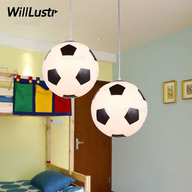 Football Gl Pendant Lamp Light