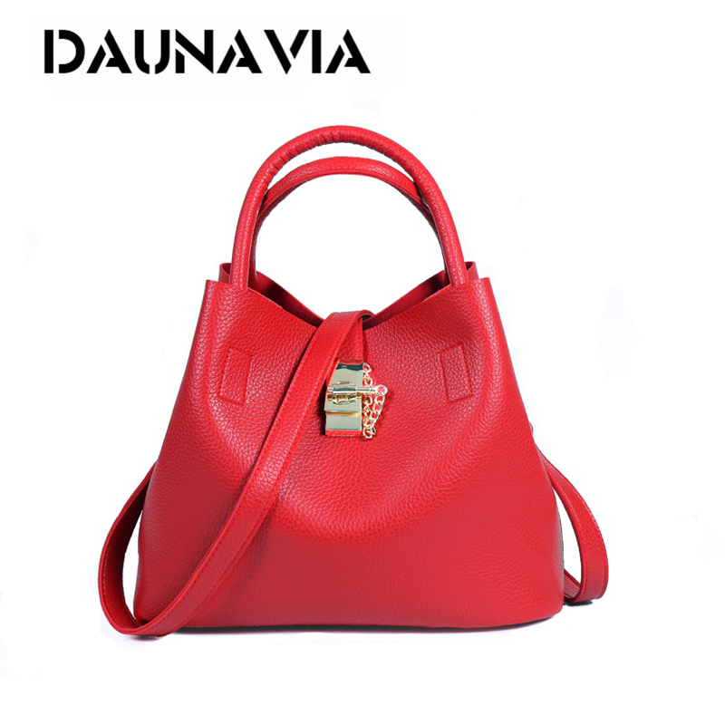 DAUNAVIA Brand Fashion Women Bags women Messenger bag crossbody bag Handbag PU Leather High Quality Famous designer shoulder bag bailar fashion women shoulder handbags messenger bags button rivets totes high quality pu leather crossbody famous brand bag