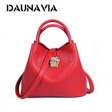DAUNAVIA Famous Brand Fashion Candy Women Bags Mobile Messenger Ladies Handbag PU Leather High Quality Diagonal Cross Buns ND403