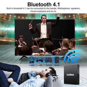 Image 5 - أندرويد 9.0 مربع التلفزيون الذكية أندرويد 9.0 4GB 64GB RK3328 رباعية النواة Q4 ماكس 2.4G واي فاي H.265 4K HD مشغل جوجل Q4 Plus مجموعة صندوق
