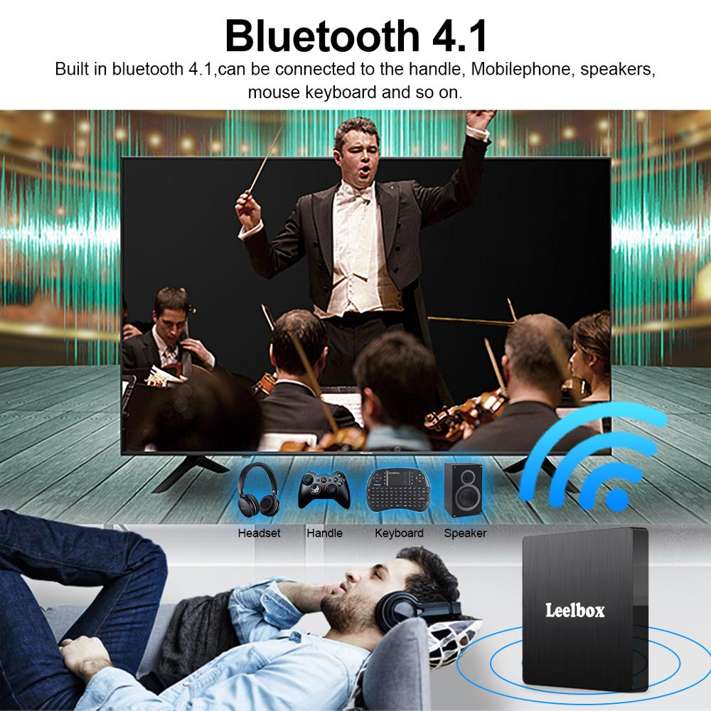 Image 5 - Android 9.0 Smart TV Box Android 9.0 4GB 64GB RK3328 Quad Core Q4 Max 2.4G Wifi H.265 4K HD Google Player Q4 Plus Set Top Box-in Set-top Boxes from Consumer Electronics