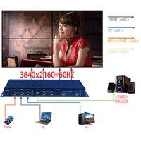 2X2 4K Video Treo Tường Bộ Điều Khiển, 4K Tivi Treo Tường Bộ Xử Lý 3840x2160 @ 60Hz Đầu Vào, HDMI 1 Bởi 4 Cao Cấp Bộ Xử Lý Hình Ảnh