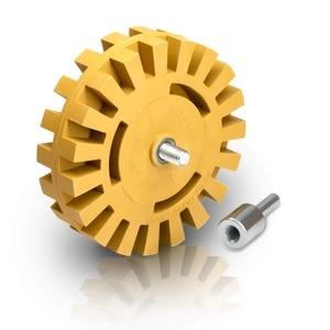 Image 2 - 4 Polegada Eliminador De Borracha Ferramenta de Remoção de Roda Gráficos Tira Off Rodas Riscas Dupla Face Adesivo de Vinil Do Decalque