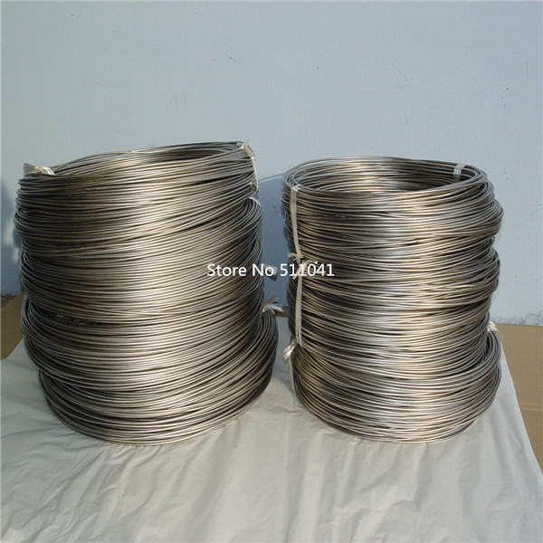 Фото Ti titanium metal rod wire CP-1 Gr1  Grade 1 titanium Wire diameter  2.0mm 5kg wholesale price Paypal is available