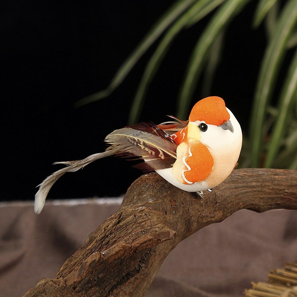 100% Waar 12 Pcs Kunstmatige Simulatie Vogel Mini Papegaai Vogel Props Handgemaakte Ultra Lichtgewicht Papegaai Voor Thuis Slaapkamer Fairy Gardendecor Materialen Van Hoge Kwaliteit