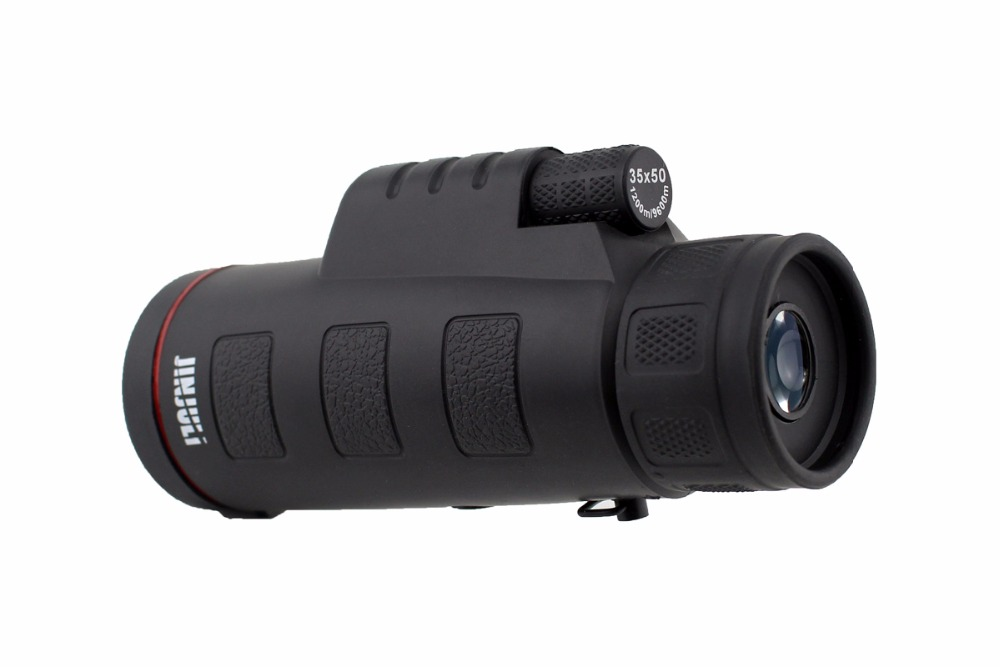 Monocular telescope low light night vision spotting scope