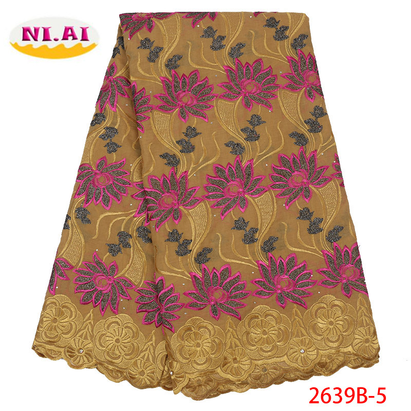 Nigerian Swiss Voile Cotton Lace Fabric 2019 African Swiss Voile Lace In Switzerland High Quality Swiss