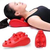 1PC Massage Pillow Travel Neck Support Tension Cervical Brace Neck Shoulder Pain Relax Soft Massager Air Cushion Traction Z4