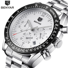 BENYAR 2018 New Fashion Chronograph Sport Watches Men high quality bus