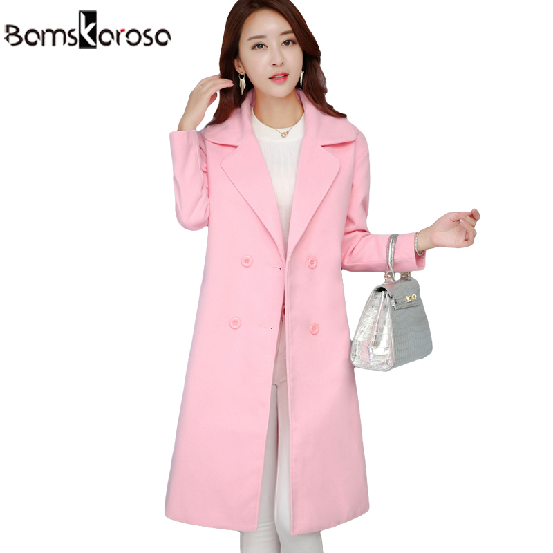 Popular Pink Cashmere Coat-Buy Cheap Pink Cashmere Coat lots from ...