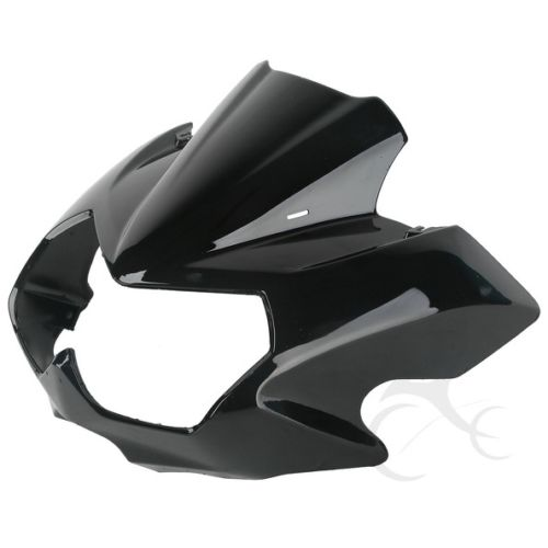 ABS Upper Front Fairing Cowl Nose Cockpit Mask For Kawasaki Z750N 2004 2006 05