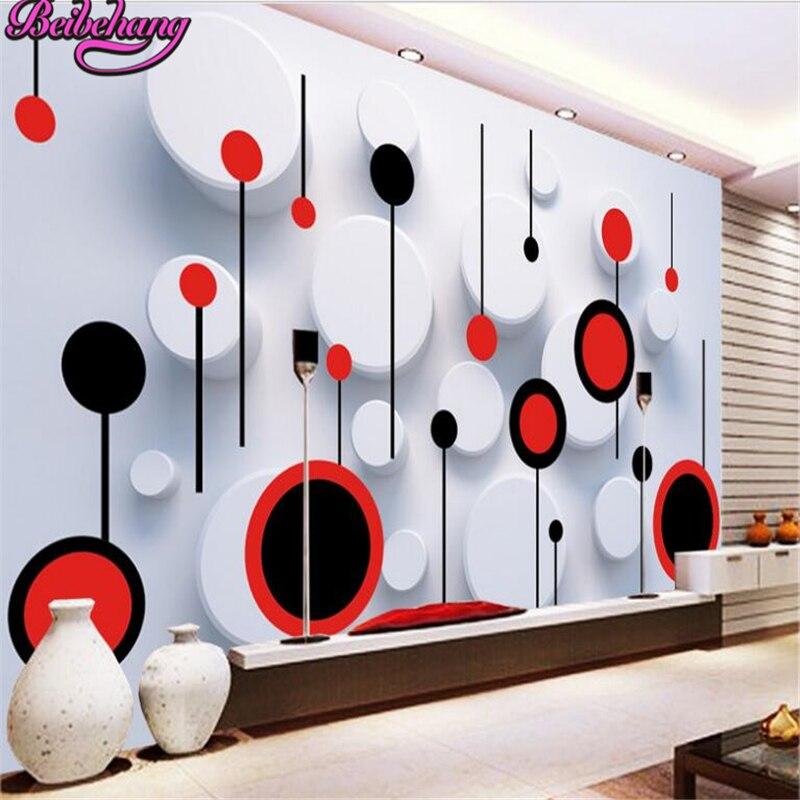papel tapiz para paredes beibehang d wallpaper cualquier tamao de moda tendencia crculo d tv