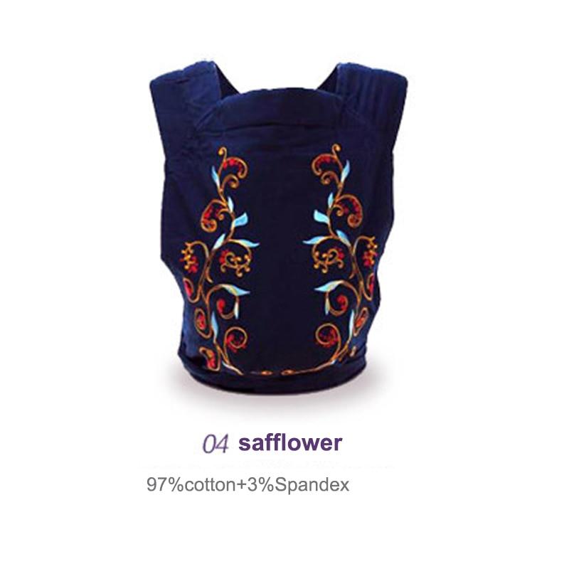 Berkualiti tinggi 0-36 bulan 4 Reka bentuk gaya bernafas bayi Selimut Sling Backpack yang selesa Bungkus bayi membawa selekoh penggulungan