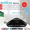 Nova rm pro rm2 broadlink casa inteligente de automação, universal controlador inteligente, wifi + ir + rf interruptor de controle remoto controle via ios android