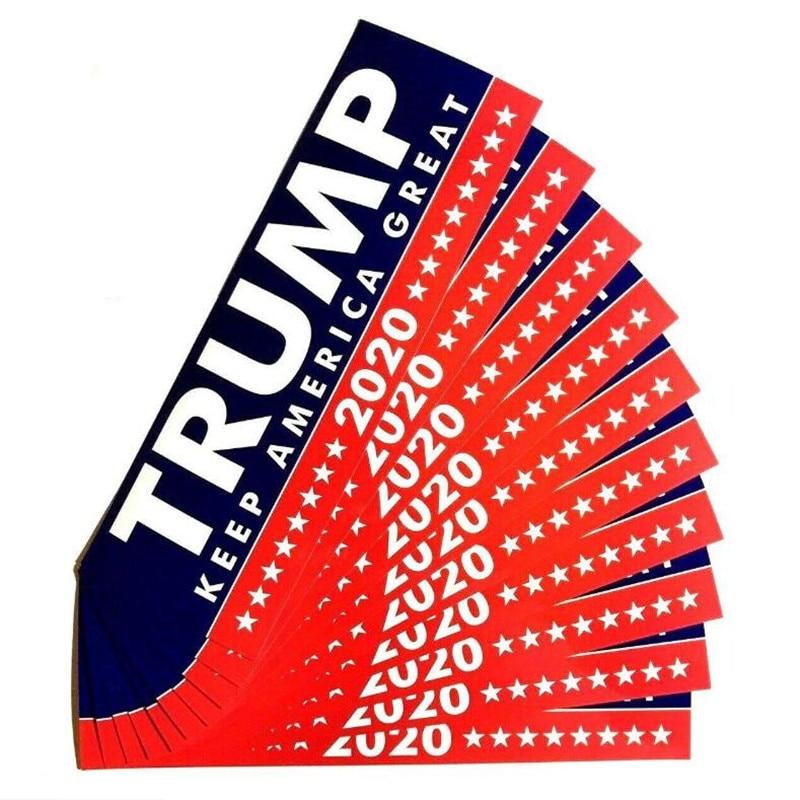 Keep America Great 2020 President Donald Trump DIY Mini Stickers Support 32pcs
