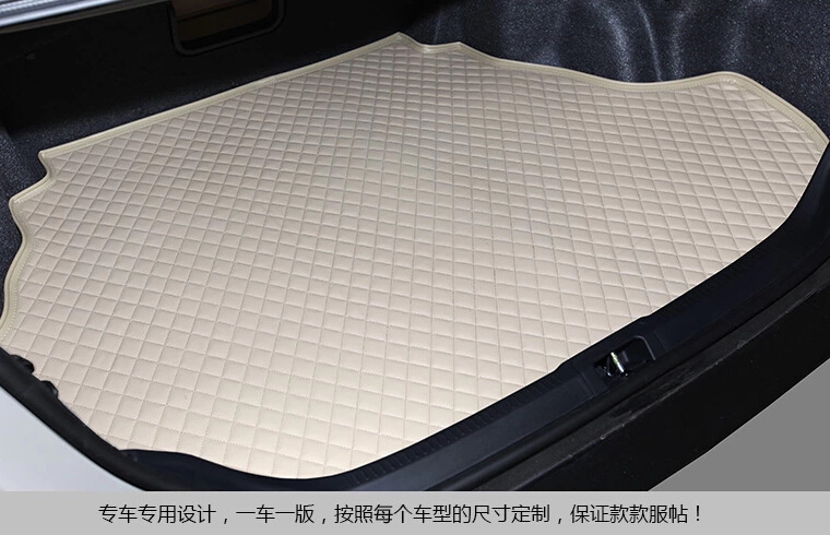 De cargaison de voiture de revêtement de coffre tapis automatique pour AUDI A4L A6L Q3 Q5 Q7 A7 A3 BMW 320i 328li 316i Mini One benz GLK300 C200L GLK260 C180L