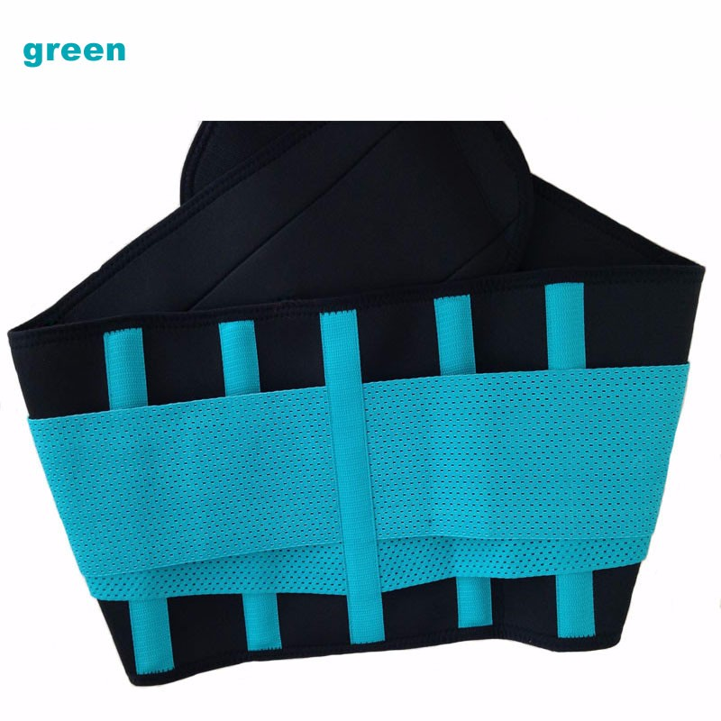 2551fb71b3937 2016 Best Elastic Girdle Back Support Belt Posture Brace Back Support Belts  Lumbar Support Back Pain Inflatable -in Braces   Supports from Beauty    Health ...