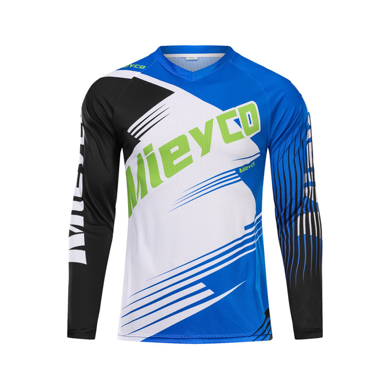 f41718ac9 Men Quick-Dry Downhill Jersey Mountain Bike Motorcycle Cycling Clothing  Bicycle Shirt Ropa Ciclismo MTB DH RBX Off Road Apparel