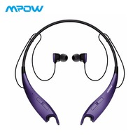Mpow Jaws Sport Wireless Earphones APT X Bluetooth Headphone CVC 6 0 Wireless Earbuds Hands free