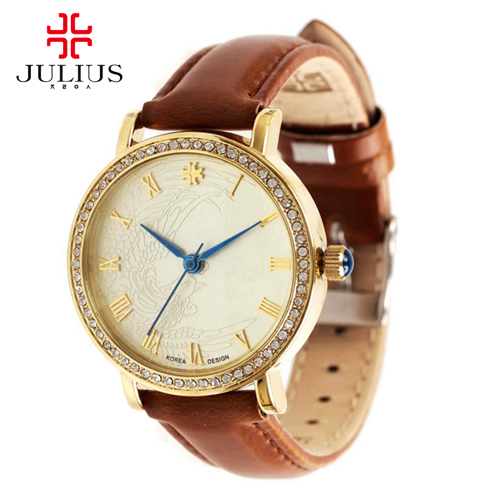 Womens luxury  phoenix wristwatch women dress rhinestone watches fashion casual quartz watch leather clock Top brand Julius 585 hot women s steel ceramic wristwatch women dress rhinestone watches fashion casual quartz watch luxury brand melissa 8009 clock