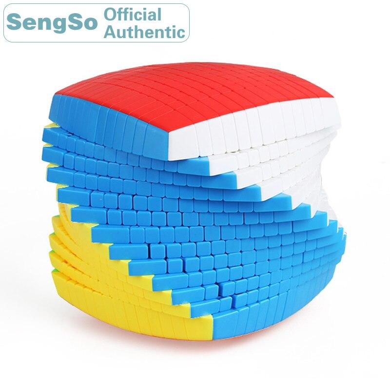 ShengShou 13x13x13 Cube magique 13x13 Cubo Magico professionnel néo vitesse Cube Puzzle Antistress Fidget jouets pour enfants