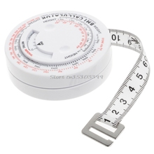BMI Body Mass Index Retractable Tape 150cm Measure Calculator Diet font b Weight b font font