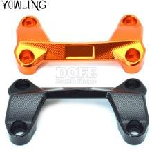 For KTM duke125 duke200 duke390 DUKE 390 200 125 Motorcycle Accessories Aluminum Handlebar Risers Cover Handle Bar Riser Clamp