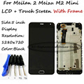 Black LCD+TP+Frame For Meizu m2 Meilan 2 meizu m2 mini LCD Display with Touch Screen Digitizer Smartphone Free shipping + Tools