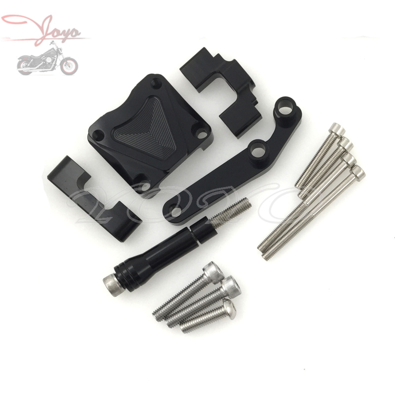 CNC Steering Stabalizer Damper Holder For Kawasaki EX300 NINJA300 2013-2016