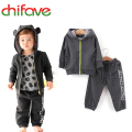 Chifave 2017 New Cartoon Style Boys Clothing Sets Sports Suit Kids Hoodies Sweatshirt+Pants Children Cute Casual Clothes Sets