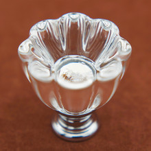 30mm K9 Crystal Knob Flower shape Drawer Pull Handle Wardrobe Kitchen Cabinets Cupboard Door Pull Knobs